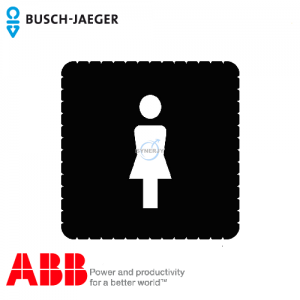 Busch-iceLight® Pictogram (Ladies' toilet)