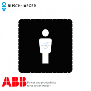 Busch-iceLight® Pictogram (Men's toilet)
