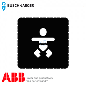 Busch-iceLight® Pictogram (Diaper changing room)