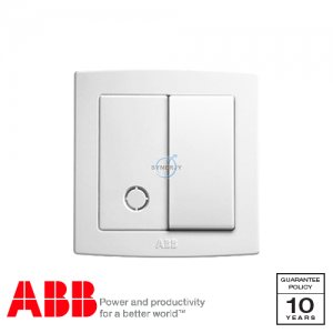 ABB Concept bs Connection Unit White