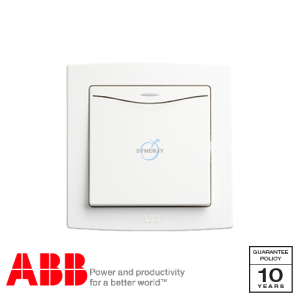 ABB Concept bs Switches with LED White