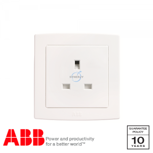 ABB Concept bs 1 Gang Socket Outlets White