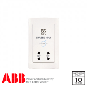 ABB Concept bs Shaver Unit White