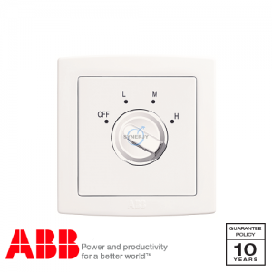 ABB Concept bs Fan Controller White