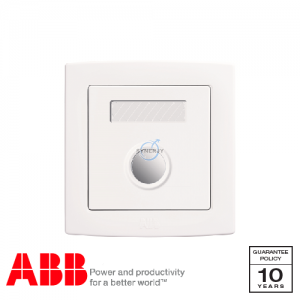 ABB Concept bs Touch Type Time Delay Switch White