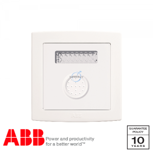 ABB Concept bs Sound and Light Control Switch White