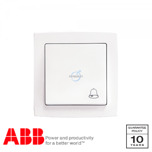 ABB Concept bs Bell Press Switch White
