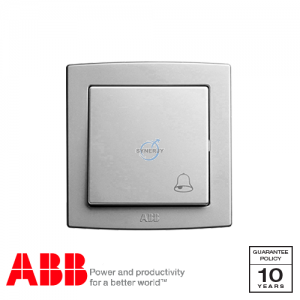 ABB Concept bs Bell Press Switch Silver
