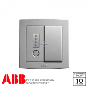 ABB Concept bs Fused Connection Units Silver