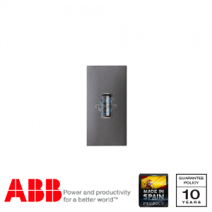 ABB Millenium 1 Gang USB Data Transfer Connection Unit