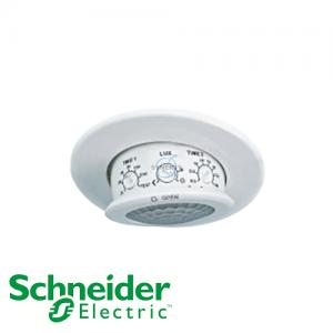 Schneider ARGUS 360° Flush Mount Dual-Load PIR Motion Sensor w Lux Sensor