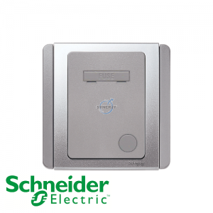 Schneider E3000 Fused Connection Unit Grey Silver