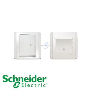 Schneider E3000 Bell Press Switch White