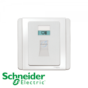 Schneider E3000 Data Socket White