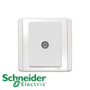 Schneider E3000 TV Socket White