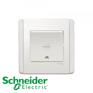 Schneider E3000 Vertical Switch w/ LED White