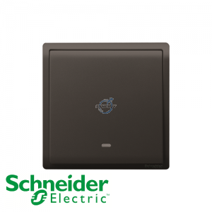 Schneider PIENO Momentary Switches Matt Black