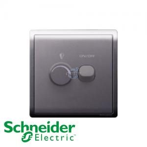 Schneider PIENO Dimmer Switch Lavender Silver