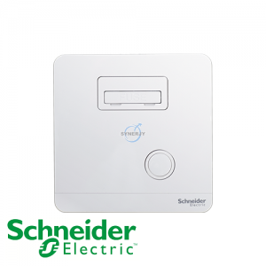 Schneider AvatarOn Fused Connection Units White