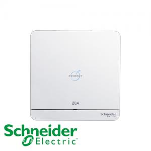 Schneider AvatarOn Double Pole Switches White