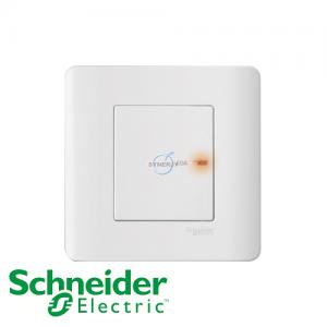 Schneider ZENcelo Double Pole Switches White