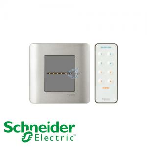 Schneider ZENcelo IR Remote Control Universal Dimmer Silver Satin