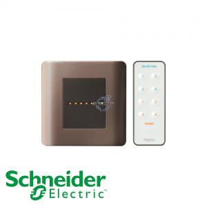 Schneider ZENcelo IR Remote Control Universal Dimmer Silver Bronze