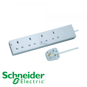 Schneider Powex 13A Extension Socket
