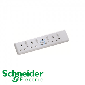 Schneider Powex Switched Neon Extension Socket (Without Cable)