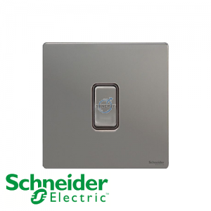 Schneider Ultimate Retractive Switch Black Nickel Black