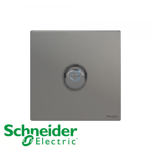Schneider Ultimate 1 Gang Dimmer Black Nickel