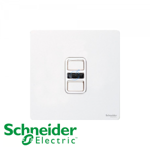 Schneider Ultimate Infrared Dimmer Pearl Metal White