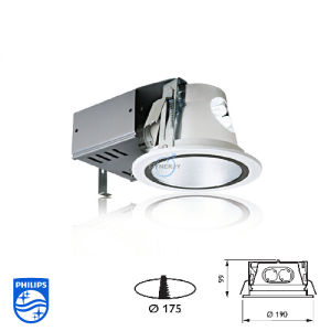 Philips FBH 032 CFL Downlight