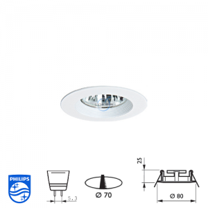 Philips QBS 022 Spotlight Fitting