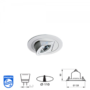 Philips QBS 029 Spotlight Fitting