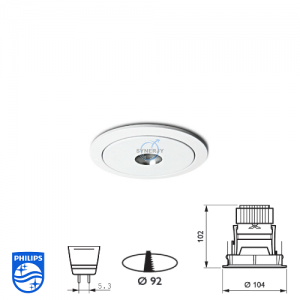 Philips QBS 042 Spotlight Fitting