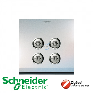 Schneider ULTI EZinstall3 2 Gang Curtain Switch