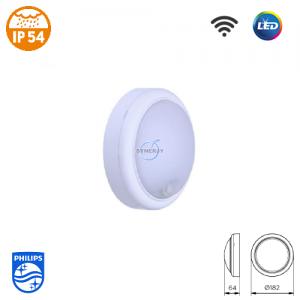 Philips WL008C SmartBright IP54 LED Sensor Light (Round)