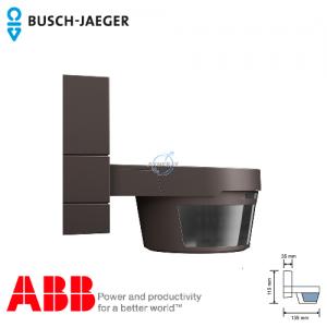 Busch-Watchdog 220 MasterLINE Premium IP55 感應開關 (棕色) 連紅外線遙控器