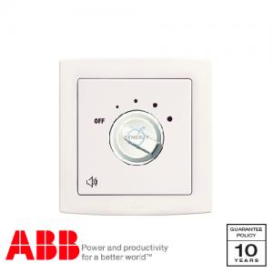 ABB Concept bs 調音 控制 開關 白