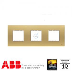 ABB Millenium 三位 邊框 磨砂金