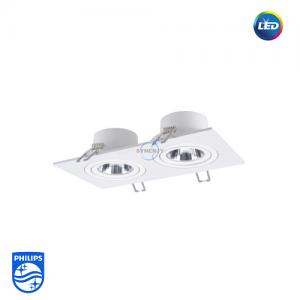 飛利浦 GD022B 明皓 LED 射燈 (雙頭)
