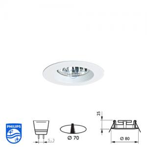 飛利浦 QBS 022 射燈座