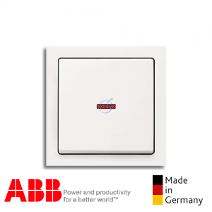ABB future® linear Double Pole Switch Matt White