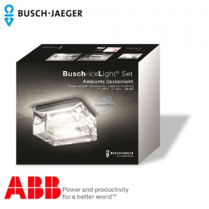 Busch-iceLight® LED Ceiling Light, Complete set