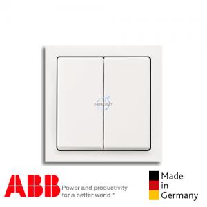 ABB future® linear 2 Gang Switch Matt White