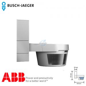 Busch-Watchdog 220 MasterLINE Premium IP55 Sensor (Silver Metallic) incl. IR remote control