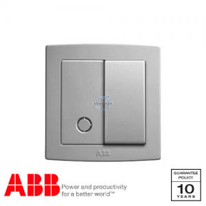 ABB Concept bs Connection Unit Silver