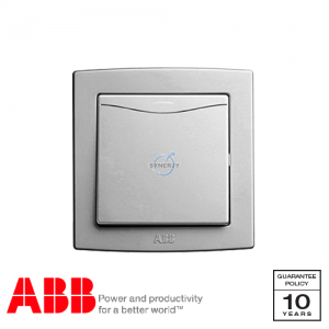 ABB Concept bs Switches with LED Silver