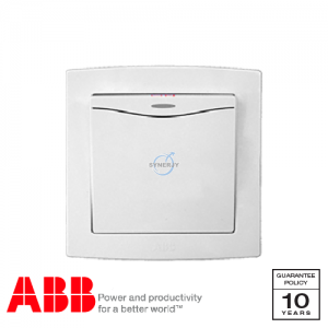 ABB Concept bs Double Pole Switches White